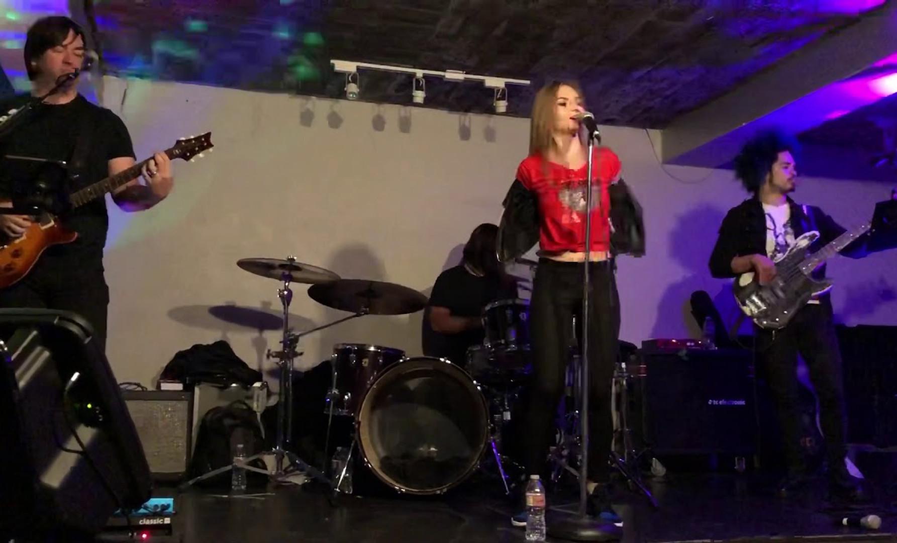 Christina sofina at Grand Jazz Star Club / Chinatown