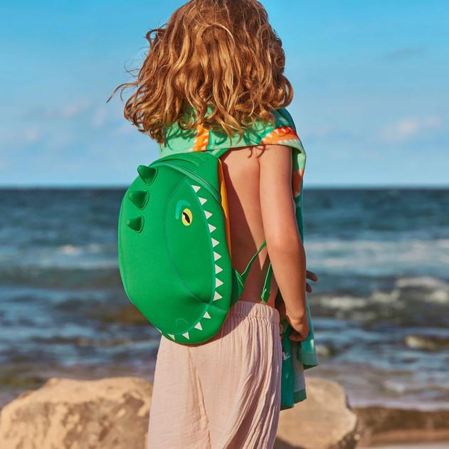 Sunnylife  Kids Neoprene Back Pack  Croc