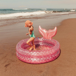 Sunnylife  Inflatable Backyard Pool  Mer