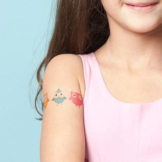 Temporary-tattoo-owls-Tattoofab SKU29.jp