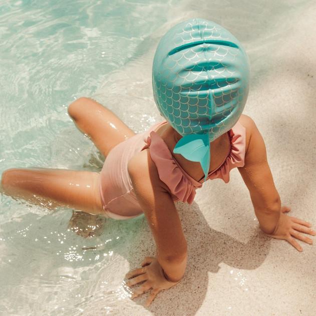 Sunnylife  Swimming Cap 3-9  Mermaid.jpg