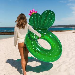 Sunnylife  Luxe Pool Ring  Cactus.jpg