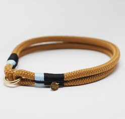Caramel, Marineblauw & Lichtblauw