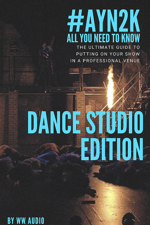 #AYN2K - All You Need To Know - Dance Studio Edition - *PRINTED VERSION