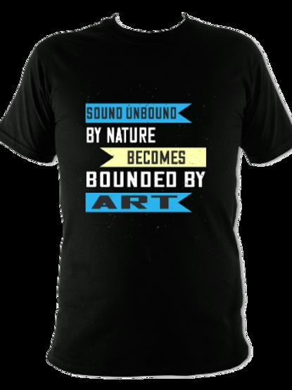 """WW Audio T-Shirt - """"Sound Unbound By Nature..."""""""