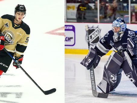 Cormier and Ellis Sign NHL entry Level Contracts
