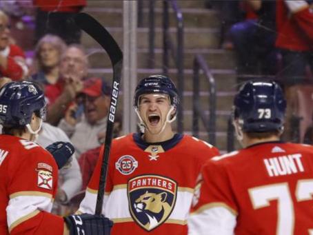 Josh Brown Scores 1st NHL Goal!
