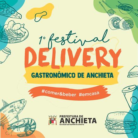 Vem aí o primeiro Festival Delivery Gastronômico de Anchieta