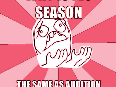 Audition Tip 1: Audition season is just around the corner!