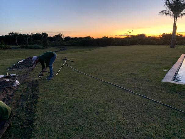In progress - Ground mount in Wellington