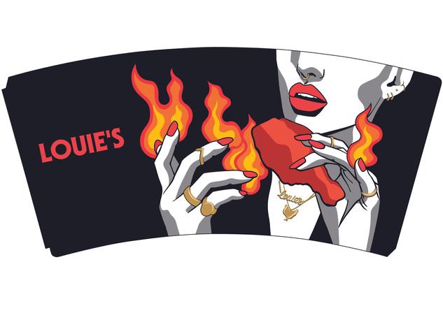 LOUIE'S CHICKEN
