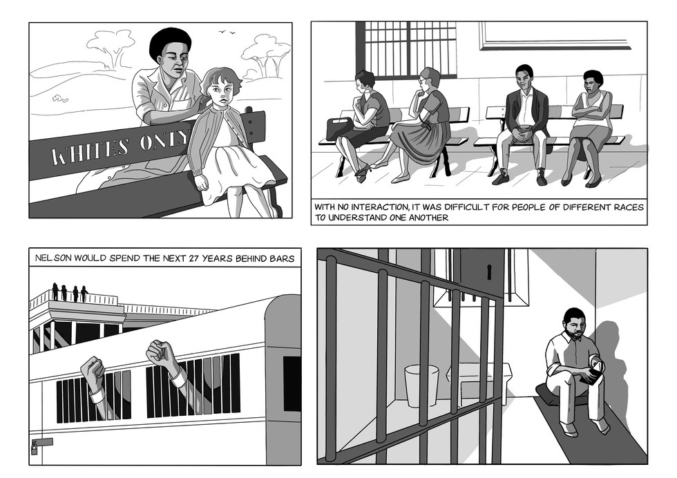 EDUCATIONAL CAMPAIGN - NELSON MANDELA