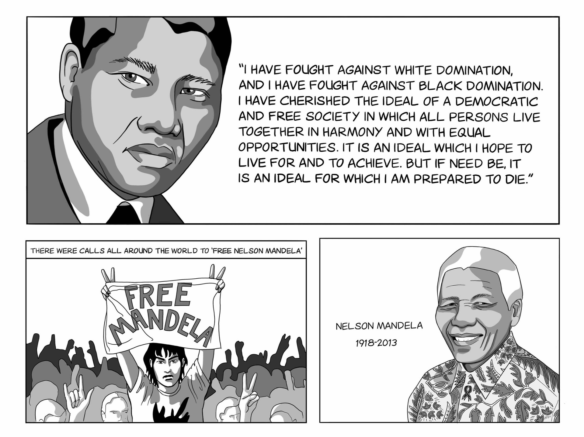 EDUCATIONAL CAMPAIGN - NELSON MANDELA