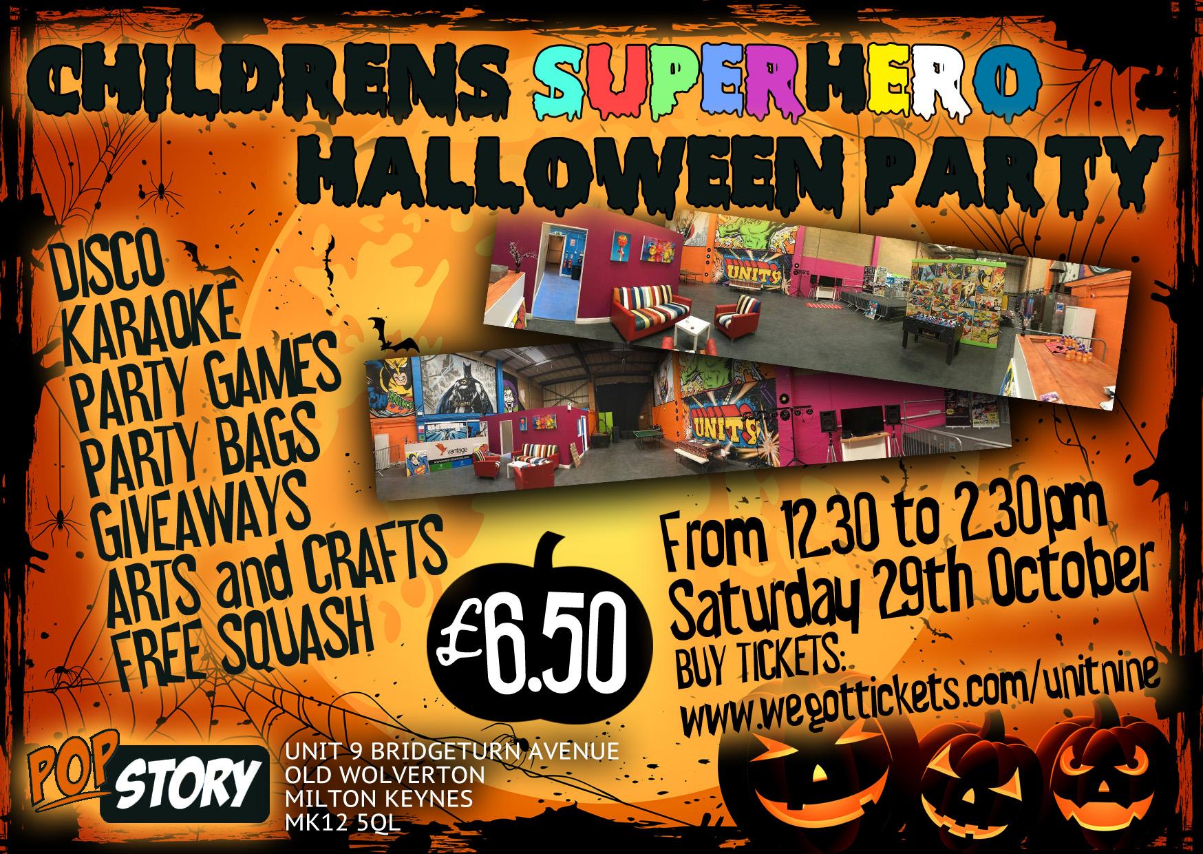 2016.10.29.Childrens Superhero Halloween Party