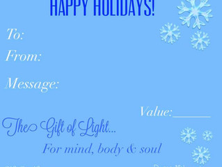 Give the Gift of Light this Holiday Season!