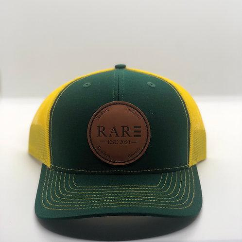 R.A.R.E  Dark Green/Yellow