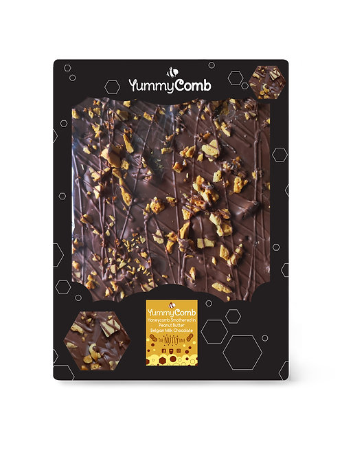 Peanut Butter Belgian Chocolate & Honeycomb Giant Slab -The Nutty One