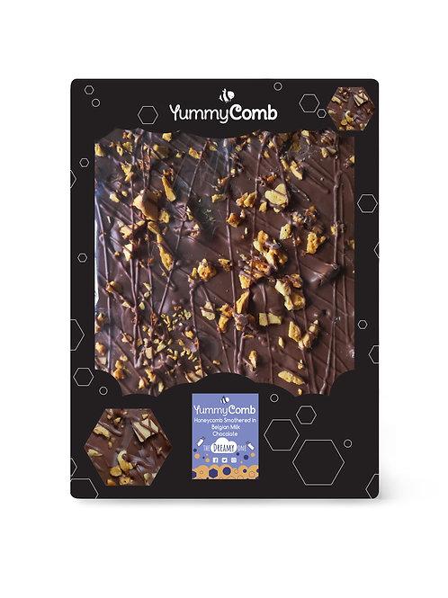 Milk Belgian Chocolate & Honeycomb Giant Slab - The Dreamy One