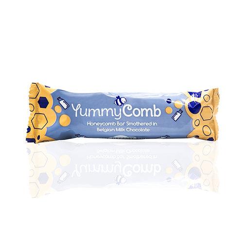12 x Belgian Milk Chocolate Honeycomb bars (35g)