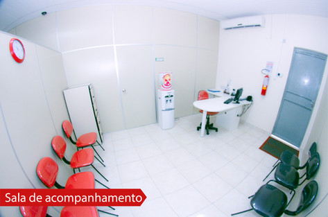 Sala de acompanhamento