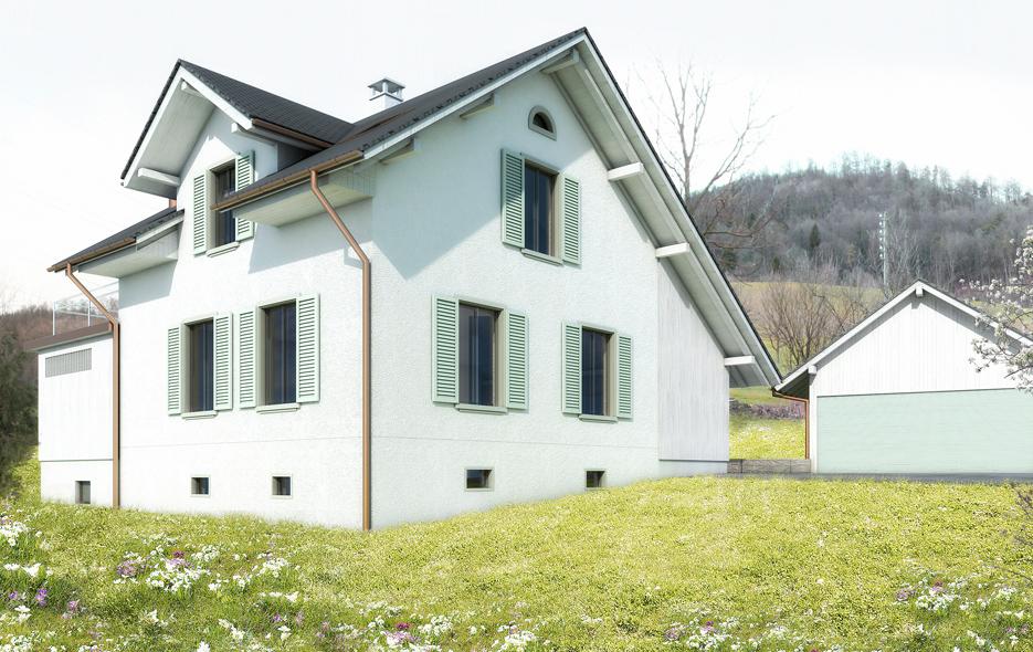 Umbau EFH Wittnau, privat