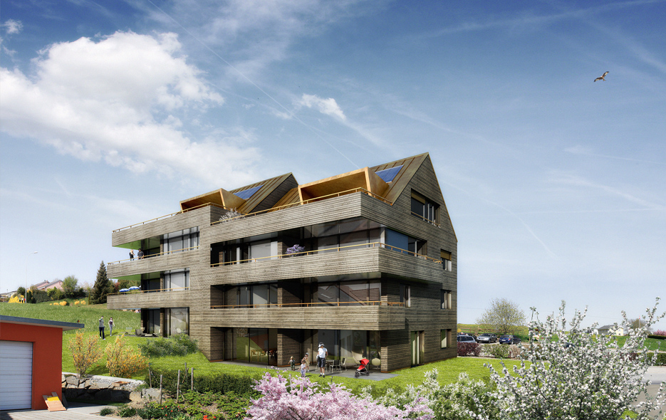 Neubau MFH Römerswil, privat