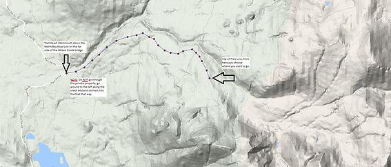 Atlin Skiing Eldorado Trail