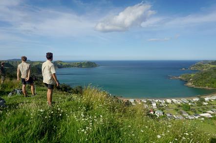 Te Araroa Hikers in New Zealand