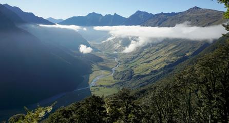 Mountain Valley, Cascade Saddle, New Zealand