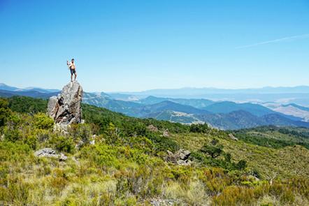 Te Araroa Hiker, Northland, New Zealand