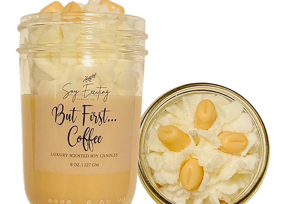 But first… Coffee specialty candle