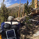 Backpack ultralight solar charger