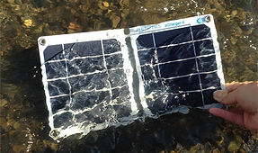 Water resistant solar charger