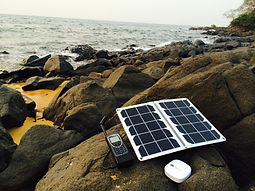 GPS solar charger