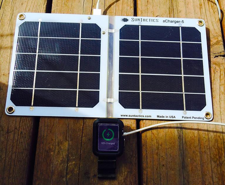 Suntactics solar charger