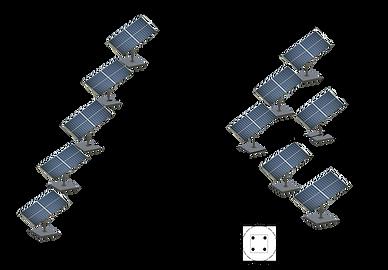Solar tracking system installation