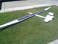Solar RC plane