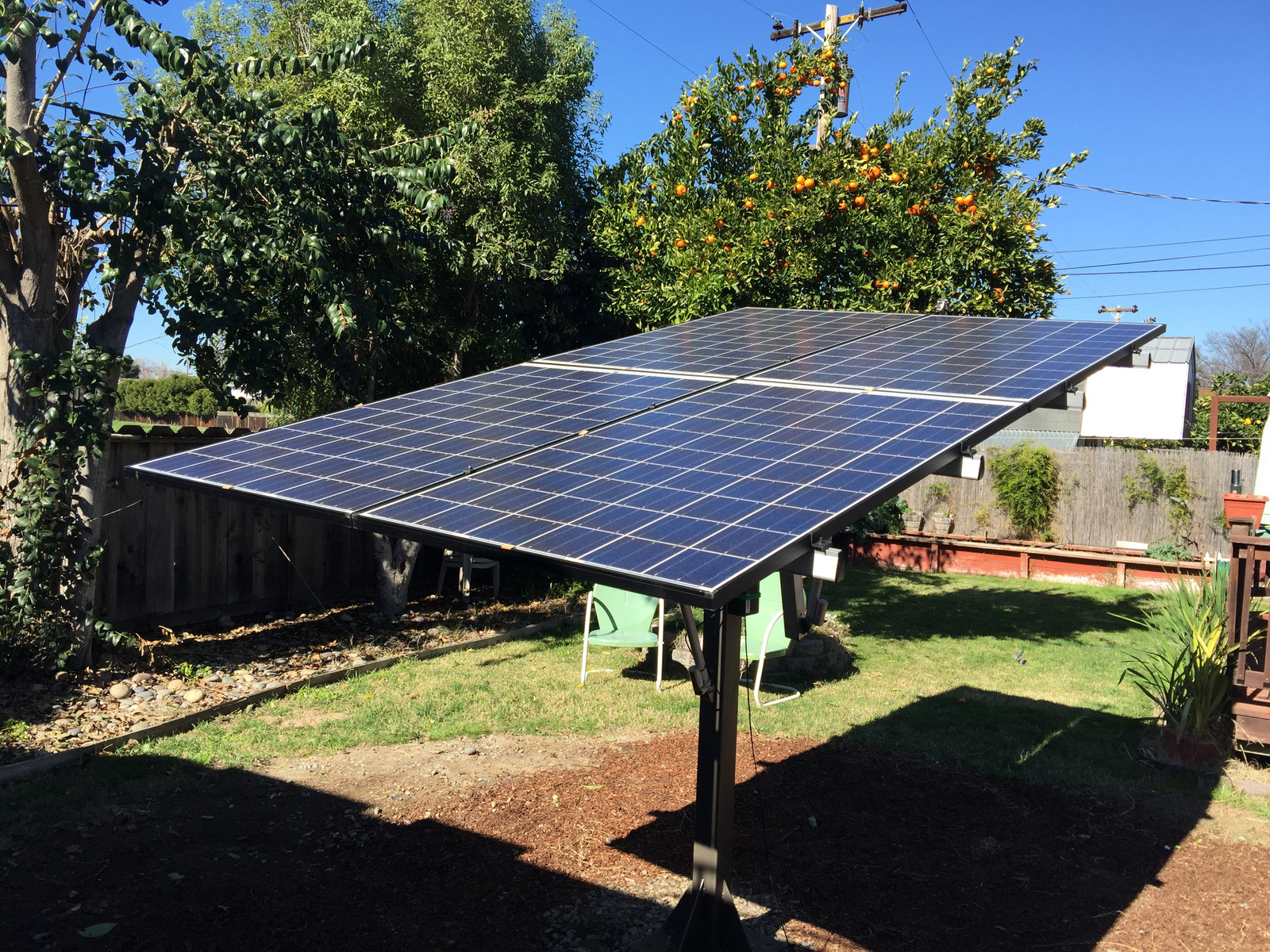 Suntactics Solar Tracker Photos