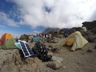 hiking solar charger was the staple of my Mount Kilimanjaro trip