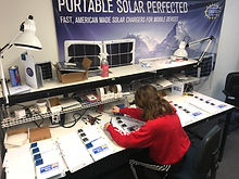Solar charger manufacturing