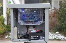 Solar tracking control box