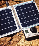 Solar charger for Kayak