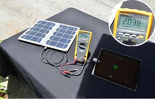 Solar charger comparison