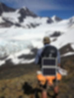 Extreme hiking solar charger