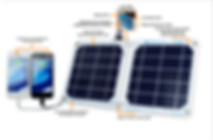 USB solar charger