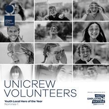 UniCrew volunteers