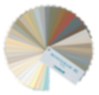 Vinyl siding color swatches