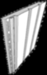 Vertical vinyl siding line art