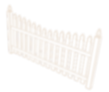 Picket fence watermark by Tidewater Virginia Peninsula fence contractor