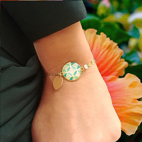 Bracelet Maia bleu